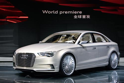 Audi A3 e-Tron на Auto Shanghai 2011