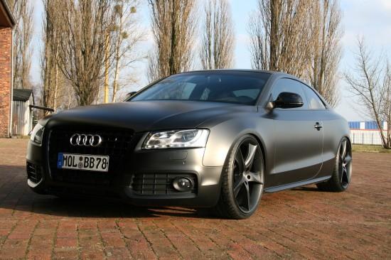 AVUS PERFORMANCE Audi A5 matt black