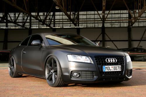 Сегодняшние Batmobile: AVUS PERFORMANCE Audi A5 черный матовый
