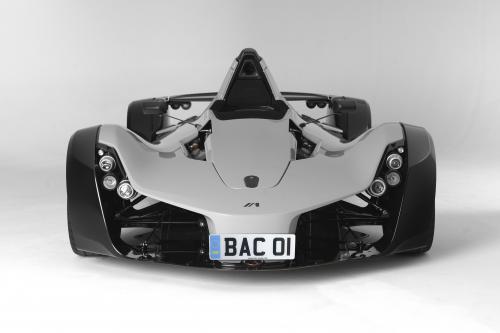 BAC MONO не быстрее, чем Pagani Huayra на Top Gear Race Track