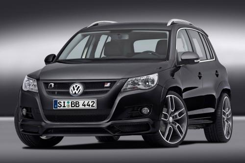 B&B VW Tiguan - компактный внедорожник до 300hp/420Nm