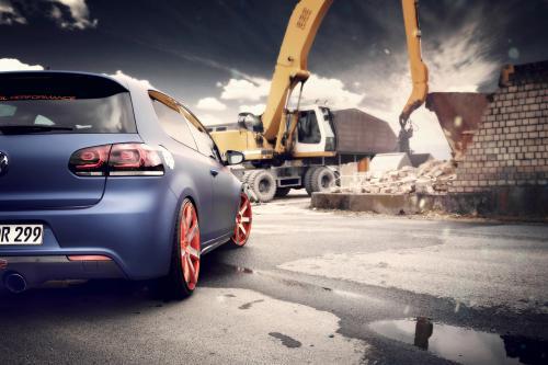 Volkswagen Golf VI с помощью BBM Motorsport