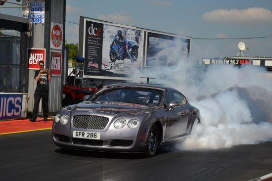 Bentley Continental GT drag