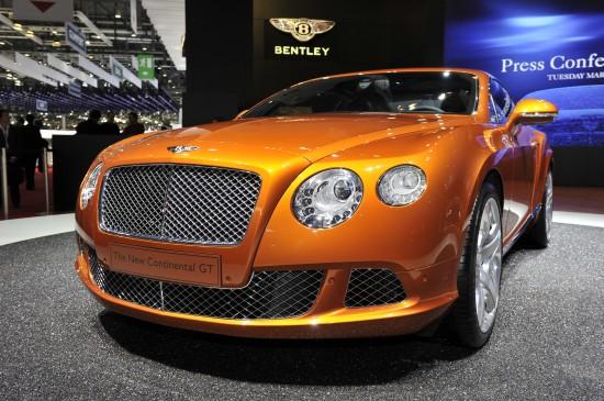 Bentley Continental GT Geneva