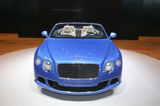 Bentley Continental GT Speed Convertible Detroit