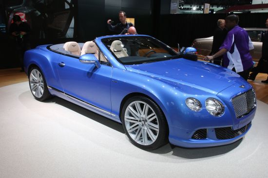 Bentley Continental GT Speed Convertible Detroit