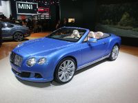 thumbnail image of Bentley Continental GT Speed Convertible Detroit 2013