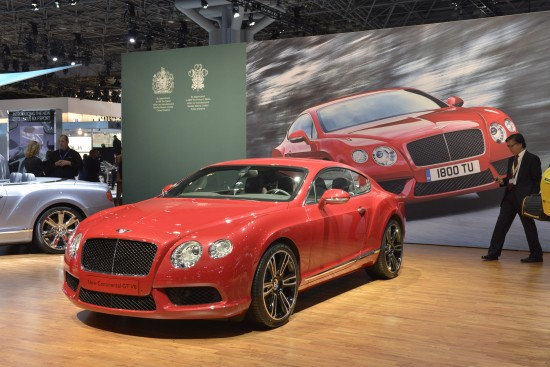 Bentley Continental GT V8 New York