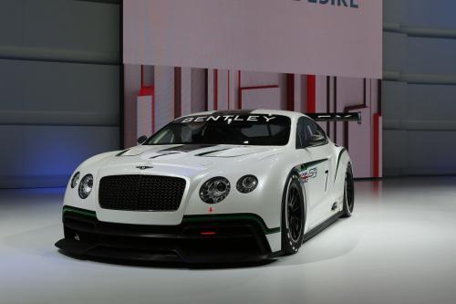 2013 Bentley Continental GT3 Concept Racer [видео]