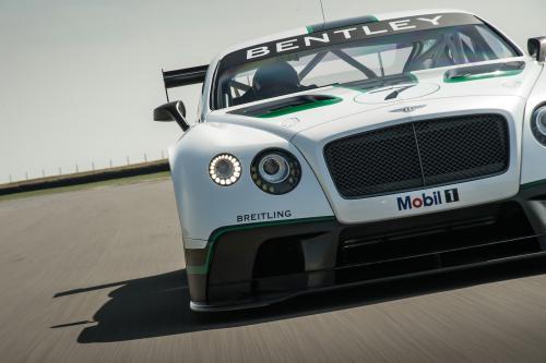 Bentley Continental GT3 гоночного автомобиля - полные спецификации