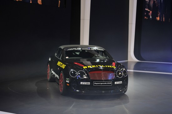 Bentley Continental Supersports Ice Speed Record Geneva