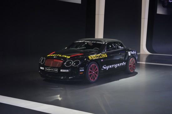 Bentley Continental Supersports Ice Speed Record Geneva