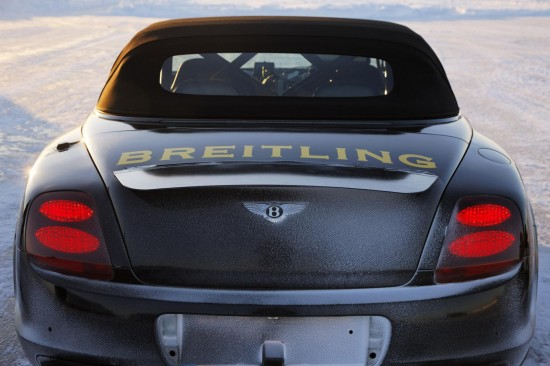Bentley Continental Supersports Ice Top Speed