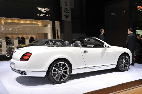 Bentley Continental Supersports ISR Convertible Geneva
