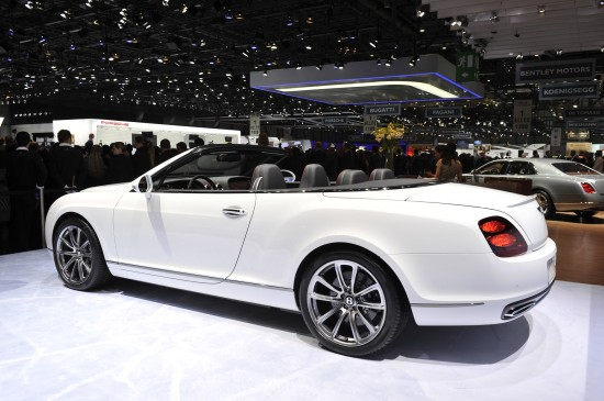 Bentley Continental Supersports ISR Convertible Geneva