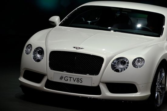 Bentley Continental V8 S Frankfurt