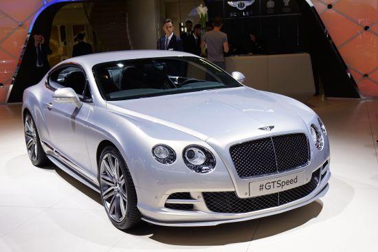 Bentley GT Speed Paris
