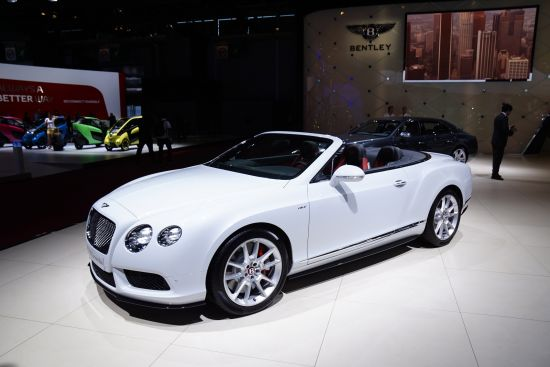 Bentley GT V8S Convertible Paris