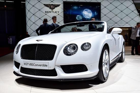 Bentley GT V8S Convertible Paris