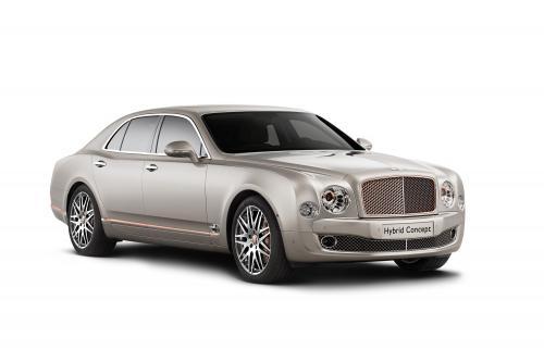 Bentley представила первый Plug-в гибридных концепта