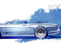 Bentley Mulsanne Convertible Concept Sketches