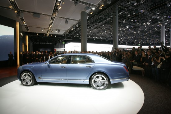 Bentley Mulsanne Frankfurt