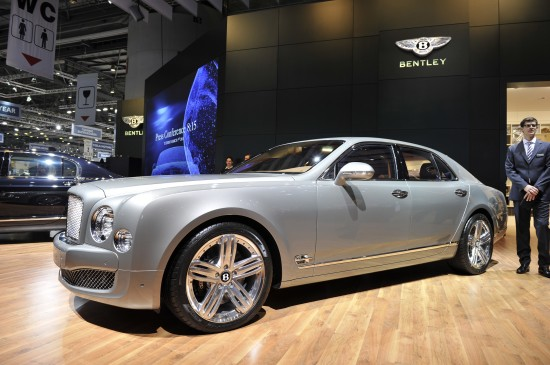 Bentley Mulsanne Geneva