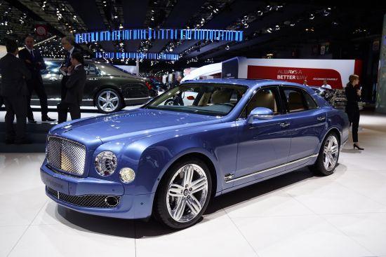 Bentley Mulsanne Paris