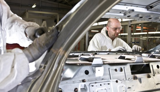 Bentley Mulsanne production