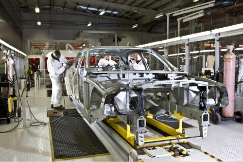 Bentley Mulsanne производство предварительного просмотра
