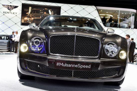 Bentley Mulsanne Speed Paris