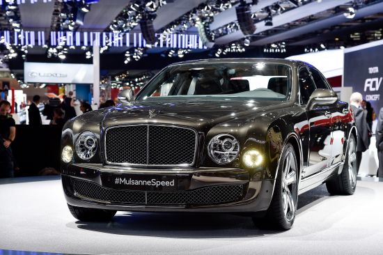 Bentley Mulsanne Speed Paris