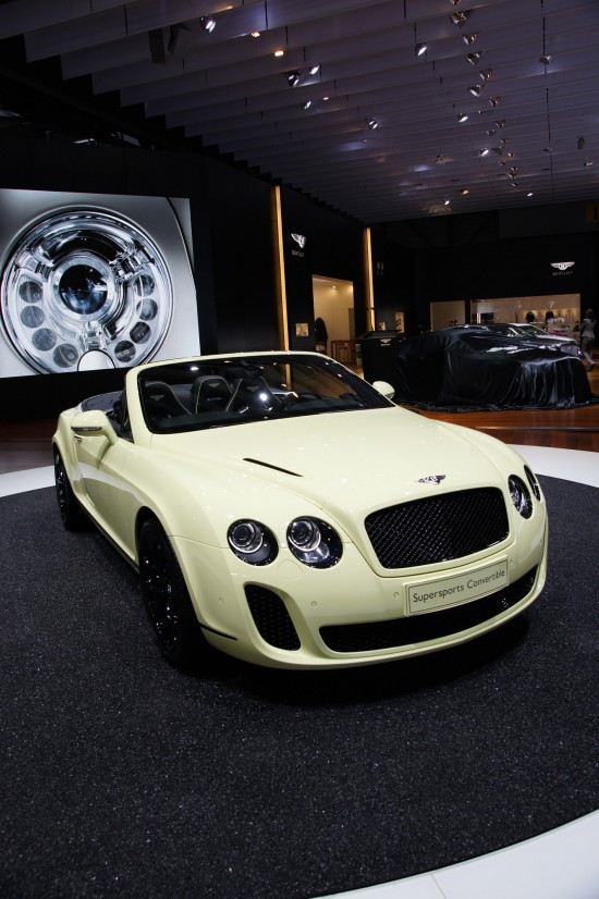 Bentley Supersports Convertible Geneva