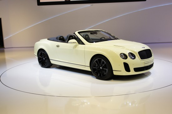 Bentley Supersports Convertible Geneva