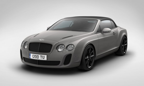 Bentley Supersports Ice Speed Record