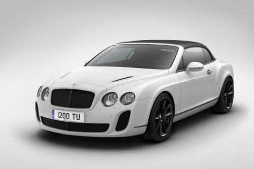Bentley Supersports Ice Speed Record [видео]