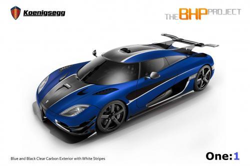 Проект визуализации Koenigsegg BHP ONE