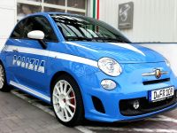 Fiat 500 Abarth in Polizia livery