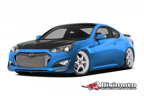 Hyundai и Bisimoto, чтобы создать 1000 л. с. Сема шоу Genesis купе