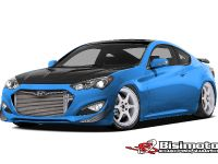 Bisimoto Hyundai Genesis Coupe, 1 of 2