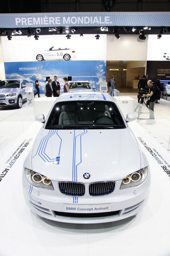 BMW 1-Series Efficient Dynamics Geneva