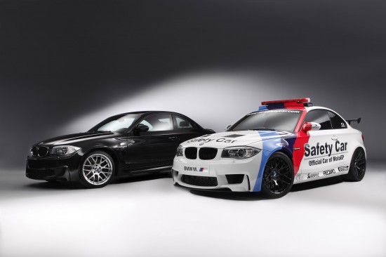 BMW 1 Series M Coupe Safety Car