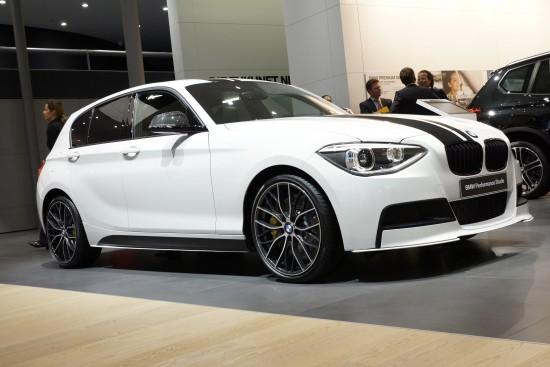 BMW 1 Series Performance Studie Frankfurt