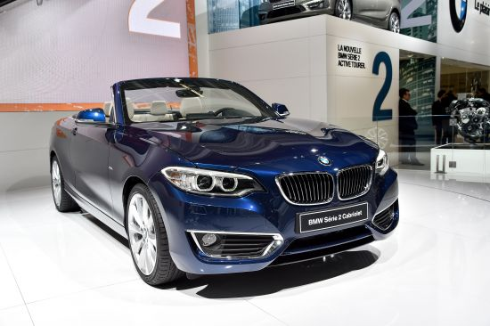 BMW 2-Series Convertible Paris