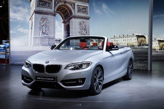 BMW 2-Series Convertible Paris