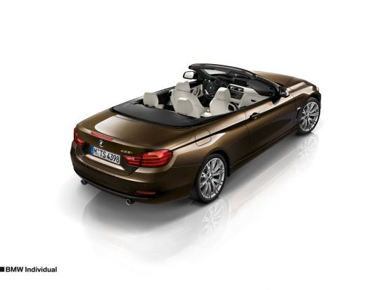 BMW 4-Series Coupe and Convertible Individual