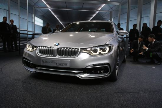 BMW 4 Series Coupe Concept Detroit