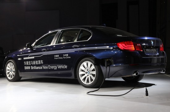 BMW 5 Series Electric Shanghai