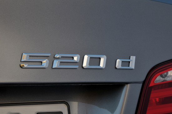 BMW 520d EfficientDynamics Saloon