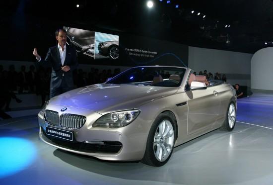 BMW 6 Series Cabriolet Shanghai